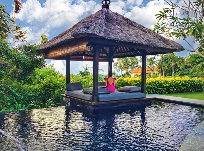 Private pool, The Villa at Ayana Resort