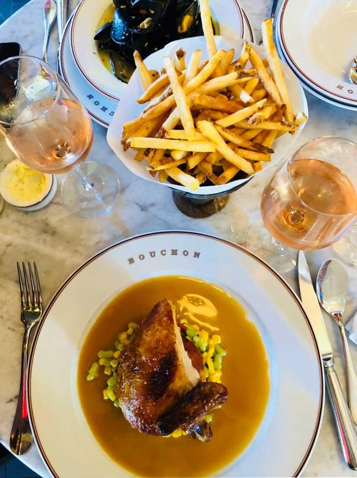 Poulet Rôti (Chicken), Bouchon Bistro