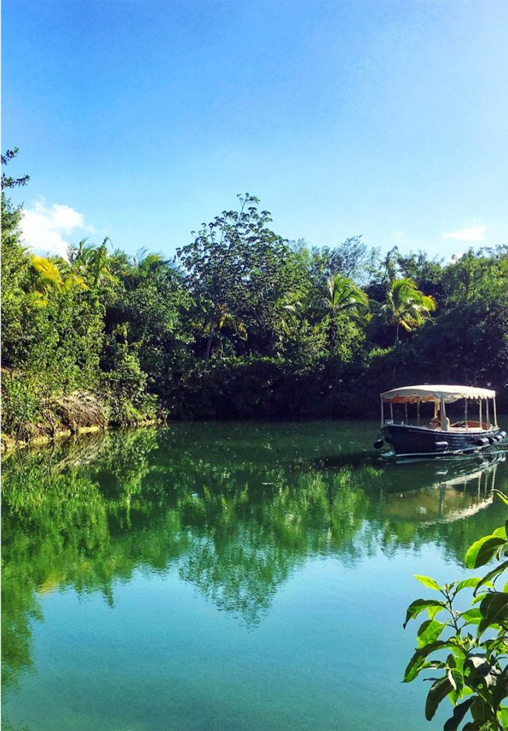 View of the lagoon, Rosewood Mayakoba